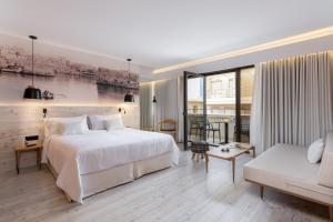Ένα ή περισσότερα κρεβάτια σε δωμάτιο στο Ibis Styles Heraklion Central