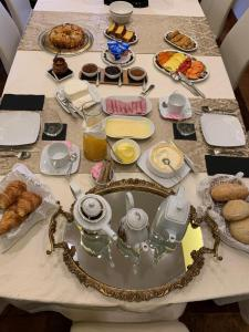 Breakfast options available to guests at Penthouse Vilamoura