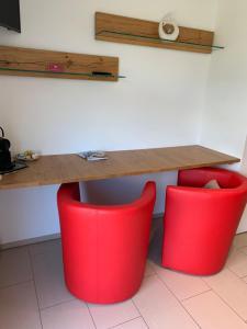 Küche/Küchenzeile in der Unterkunft Ustria / Pensiun Trutg