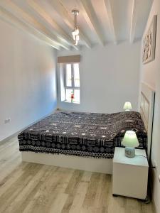 Cama o camas de una habitación en New Apartment Novelda Historic Center