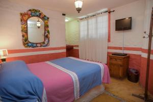 Cama o camas de una habitación en Posada del Fraile