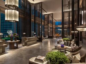 The lobby or reception area at The St. Regis Hong Kong