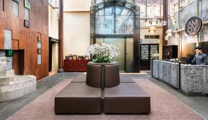 The lobby or reception area at AMOY by Far East Hospitality (SG Clean)