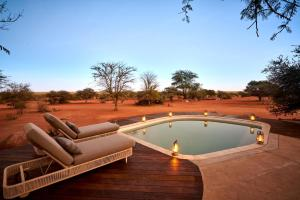 The swimming pool at or near Tswalu Kalahari Reserve