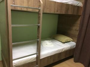 A bunk bed or bunk beds in a room at Green House