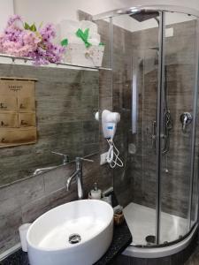 Bagno di B&B Abatjour - ambiente sanificato - test antilegionella assolto