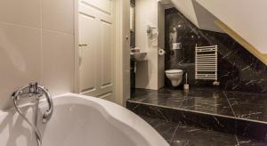 A bathroom at Willa Carlton