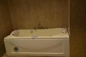 A bathroom at Rimon Cyprus Kosher Rooms
