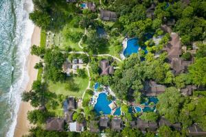 Vaade majutusasutusele Khaolak Merlin Resort linnulennult