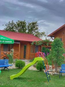 Children's play area at Raiski kat Marianna