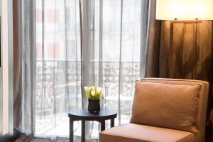 A seating area at Hotel Murmuri Barcelona