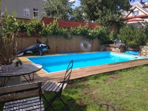 Bazén v ubytování Hlinsko apartment nebo v jeho okolí