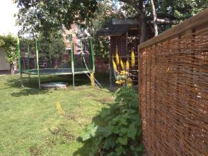Zahrada ubytování Hlinsko apartment