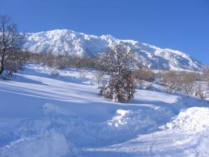 Locanda del Barone durante l'inverno