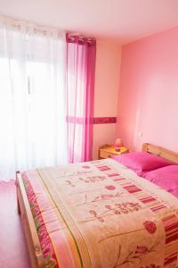 Un ou plusieurs lits dans un hébergement de l'établissement Les Valtieres du Mont Saint Michel