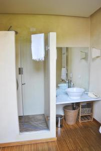 A bathroom at Villa Cavadini Relais