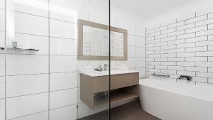 A bathroom at Beachhaven 2 @ Clarkes Beach
