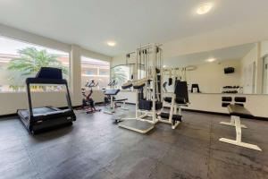 The fitness center and/or fitness facilities at Hotel Comfort Inn Monterrey Norte