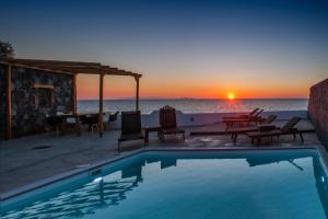 The swimming pool at or near Abelomilos Exclusive Villa