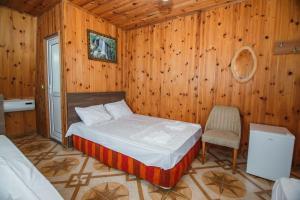 Кровать или кровати в номере Guest House Nia
