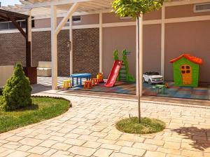 Children's play area at Telia