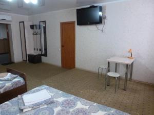Телевизор и/или развлекательный центр в Hotel Pobeda