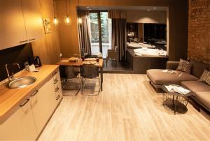 A kitchen or kitchenette at Cityloft 161