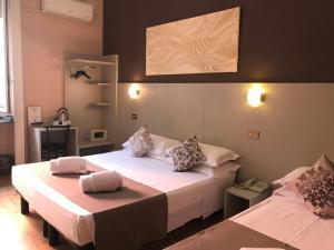 Letto o letti in una camera di Hotel Bogart
