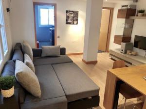 A seating area at Apartamento Ana Isabel Herrero