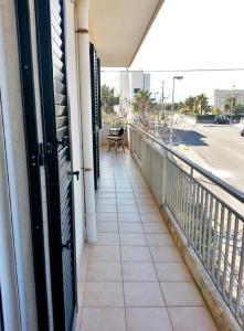 A balcony or terrace at Casa Liliane