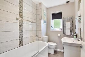 A bathroom at Westmorland House