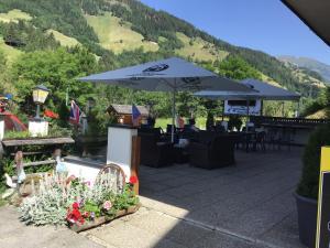 Reštaurácia alebo iné gastronomické zariadenie v ubytovaní Guesthouse Mountain View