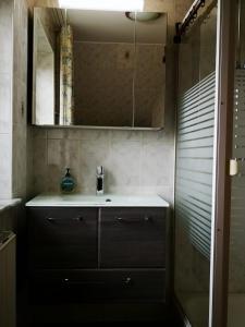 Ein Badezimmer in der Unterkunft Frische Brise