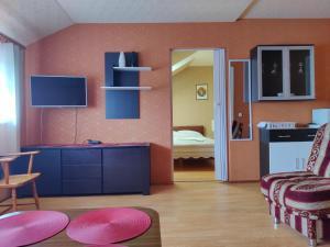 Kuchyňa alebo kuchynka v ubytovaní Guest house Ošia