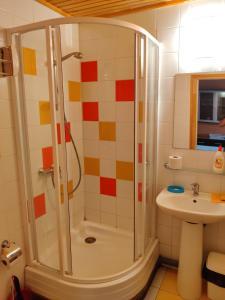 Kúpeľňa v ubytovaní Guest house Ošia