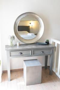 A bathroom at Anna Maria's, cozy studio in the heart of Fiscardo