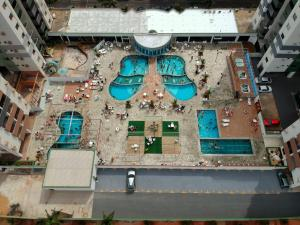 The floor plan of Apartamento Aquarius Residence