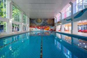 The swimming pool at or near Uzhnoe Vzmorie Health Resort