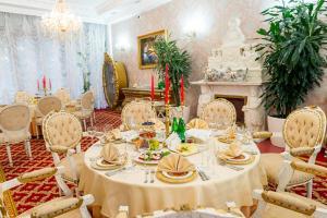 Banquet facilities at the health resort