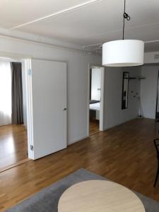 A kitchen or kitchenette at Corporate apartments Lidingö
