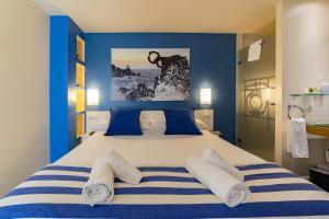 Ein Bett oder Betten in einem Zimmer der Unterkunft Ur-Alde
