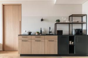 Küche/Küchenzeile in der Unterkunft VillaVerde Aparthotel