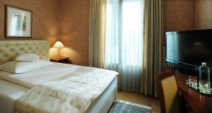 Postelja oz. postelje v sobi nastanitve Grand Hotel Toplice - Small Luxury Hotels of the World