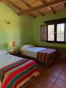 A bed or beds in a room at Casas en Cachi