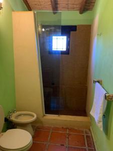 A bathroom at Casas en Cachi