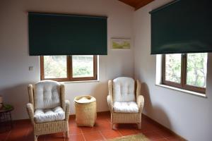 A seating area at A Casa da Sofia