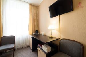 Телевизор и/или развлекательный центр в Саппоро Отель