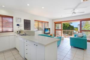 A kitchen or kitchenette at Offshore Noosa Resort