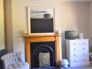 A television and/or entertainment center at The Three Horseshoes