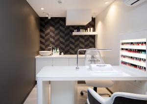 A bathroom at Kalev Spa Hotel & Waterpark